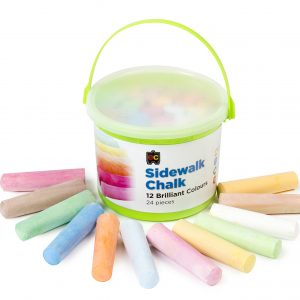 Rainbow Chalk - 24 pieces