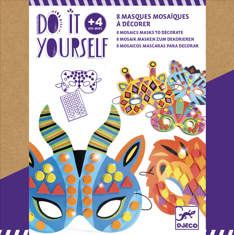 Do It Yourself Animal Masks