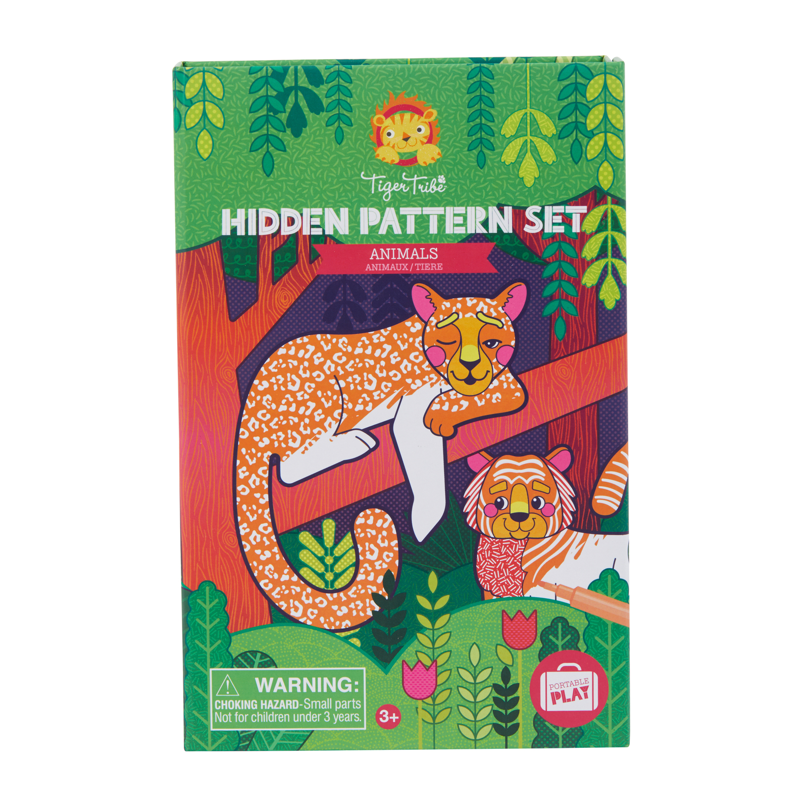 Colouring Set Hidden Patterns - Animals
