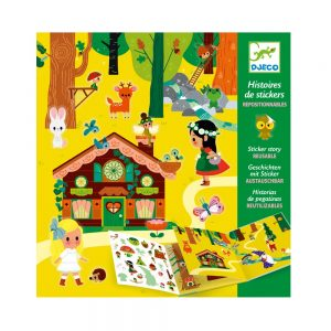 Djeco Magical Forest Sticker Set