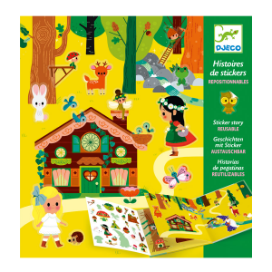 Djeco Magical Forest Sticker Book