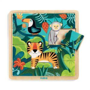 Djeco Wooden Jungle Puzzle