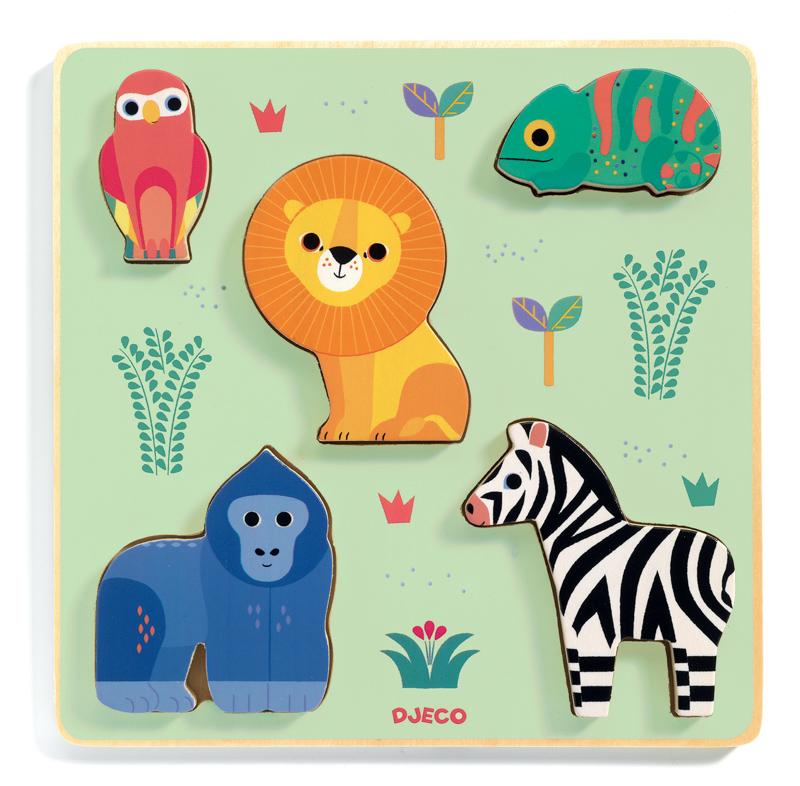 Deco Emilion Jungle Puzzle