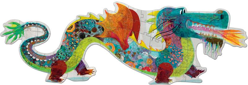 Deco Giant Puzzle Leon the Dragon 58pce