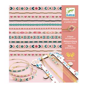 Djeco Tiny Beads Bracelet Making Set
