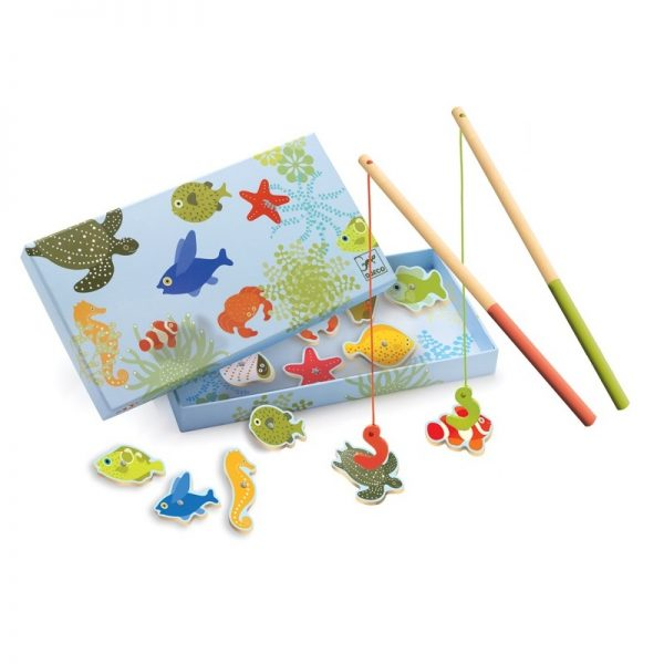 Djeco Tropical Magnetic Fishing Game