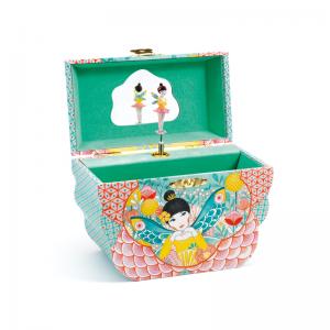 Flower Melody Music Box