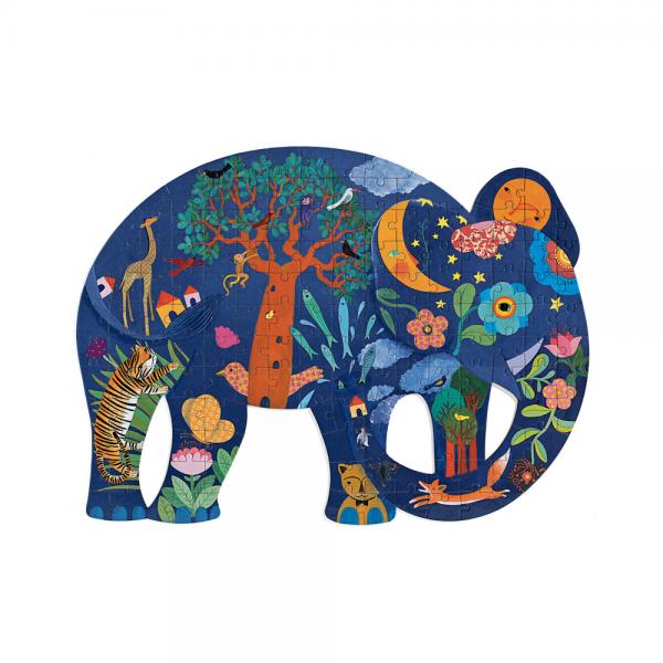 Djeco Elephant Art Puzzle