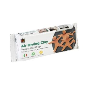 Air Drying Claying 500g Terracotta