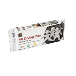 Air Drying Claying 500g White