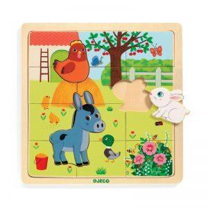 Djeco Wooden Farm Puzzle