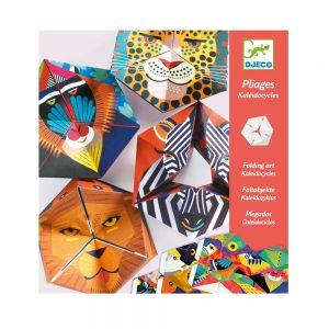 Djeco Flexi Animals Paper Creations