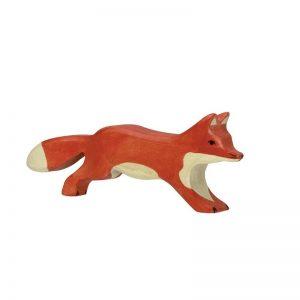 Holztiger Fox Running