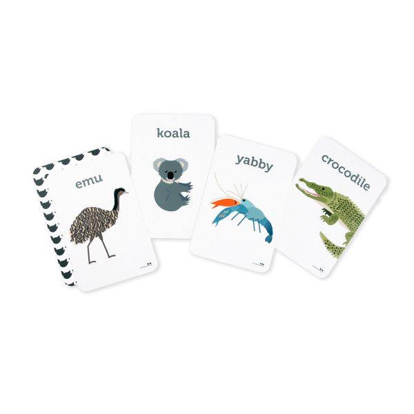Aussie Animals Flash Cards