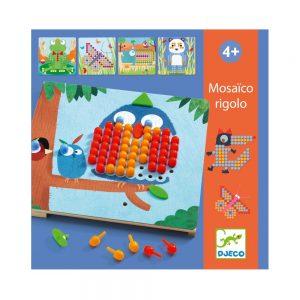Djeco Rigolo Mosaic Peg Board