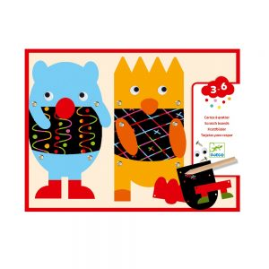 Djeco Scratch Cards Little Monsters