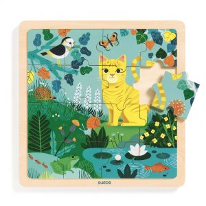 Djeco Wooden Lily Puzzle