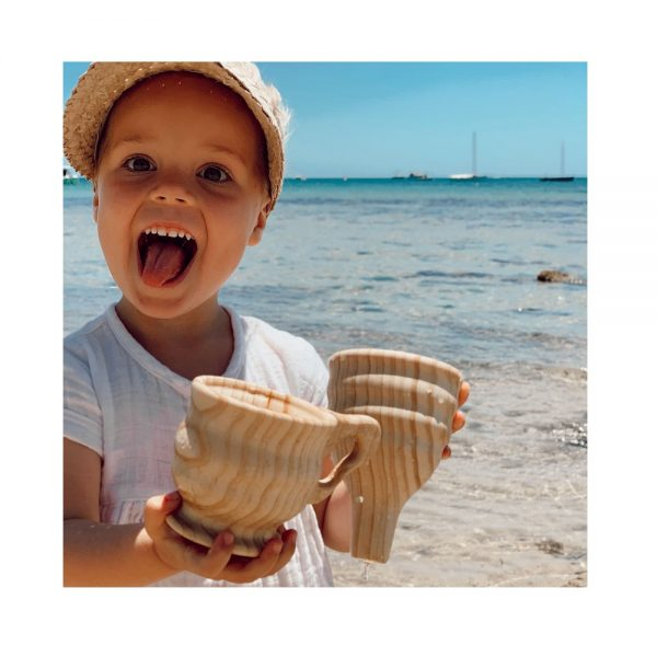 Explore Nook Wooden Funnel & Cup