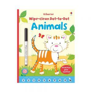 Wipe Clean Dot to Dot Animals