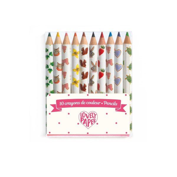 Mini Coloured Pencils Aiko