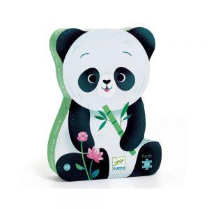 Djeco Silhouette Puzzle Leo Panda 24pce
