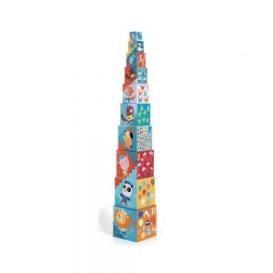 Djeco Stacking Cubes Beach